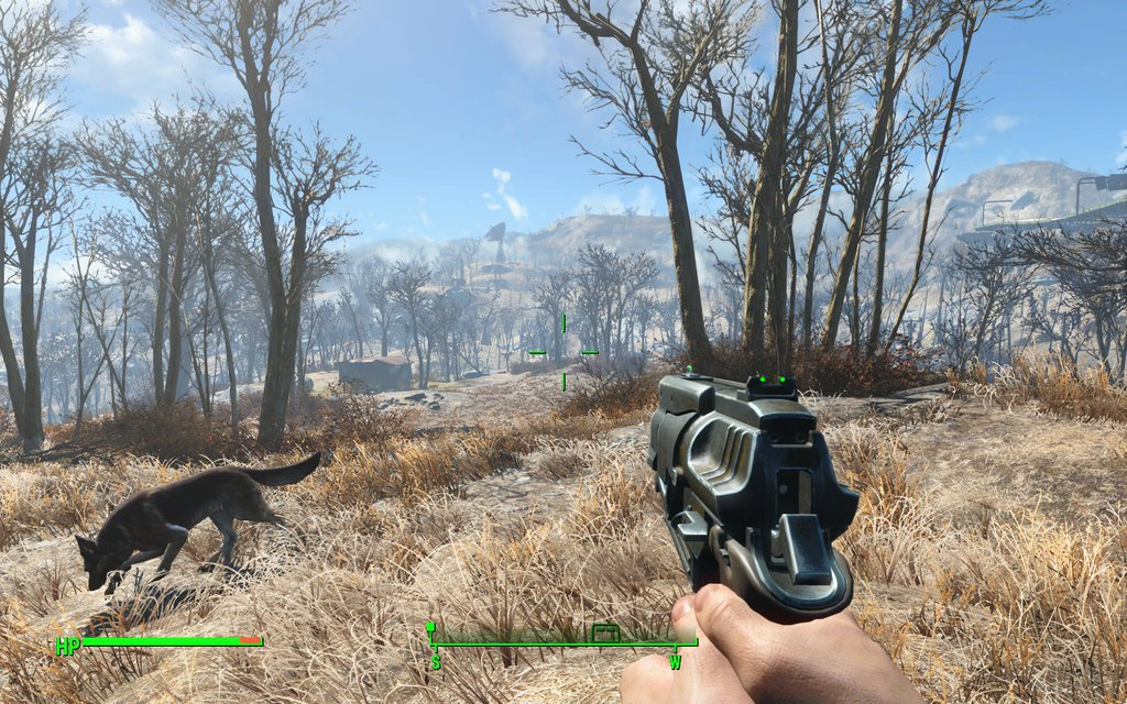 Fallout 4 running flawlessly with graphics set to Ultra